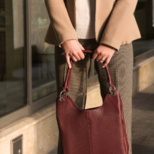 Неповторимая бордовая женская сумка FBR-2345 236810