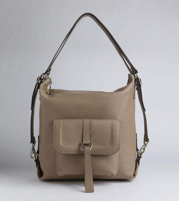 Неповторимая бежевая женская сумка FBR-978