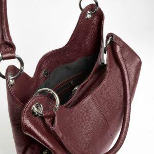 Неповторимая бордовая женская сумка FBR-2345 236805