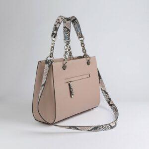 Кожаная бежевая женская сумка FBR-2884 236897