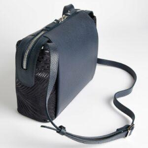 Неповторимая синяя женская сумка через плечо FBR-2599 236847