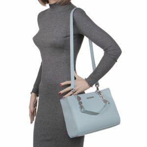 Стильная голубая женская сумка FBR-2150 236730