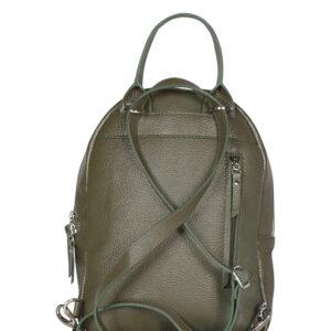 Модный желтовато-зелёный женский рюкзак FBR-1267 236690