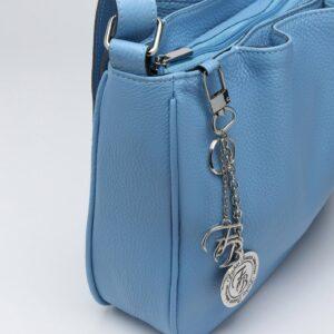 Модная голубая женская сумка FBR-189 236648