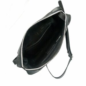 Функциональная черная женская сумка через плечо FBR-2478 236836