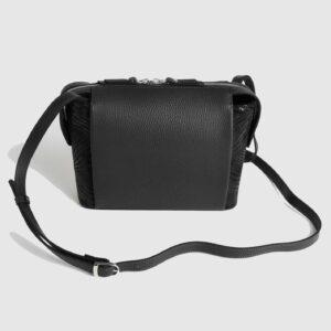 Функциональная черная женская сумка через плечо FBR-2478