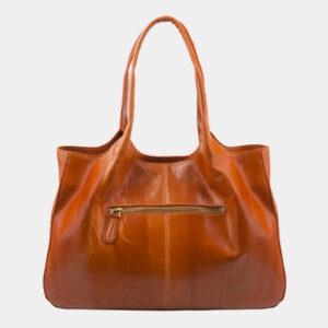Уникальная оранжевая сумка с росписью ATS-2815 237300