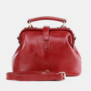 Стильная красная женская сумка ATS-3757