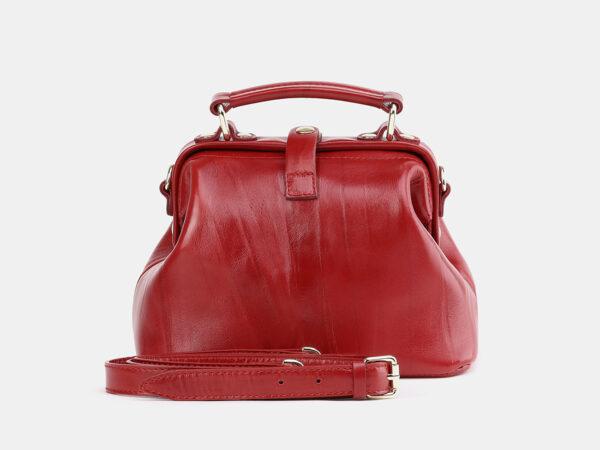 Солидная красная женская сумка ATS-3757
