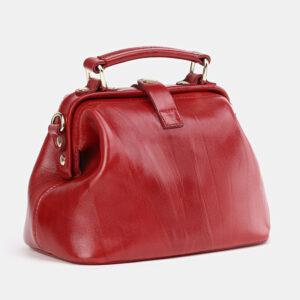 Солидная красная женская сумка ATS-3757 237289
