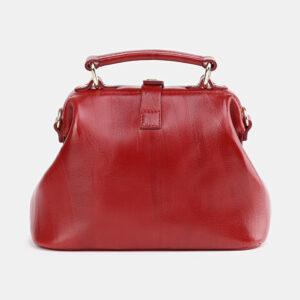 Солидная красная женская сумка ATS-3757 237290