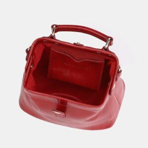 Солидная красная женская сумка ATS-3757 237291