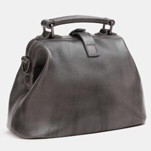 Солидная серая женская сумка ATS-3809 237218