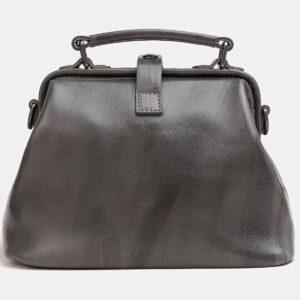 Солидная серая женская сумка ATS-3809 237219
