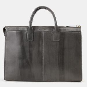 Неповторимый серый мужской портфель ATS-4145