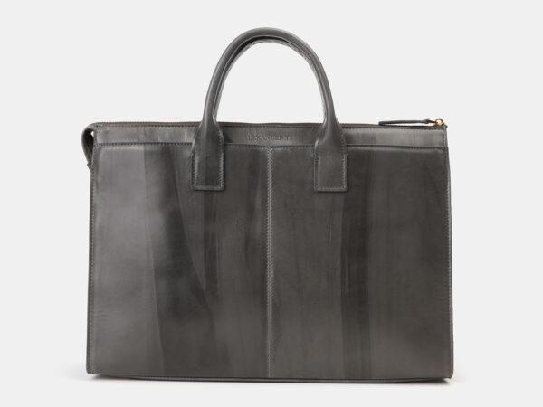 Вместительный серый мужской портфель ATS-4145