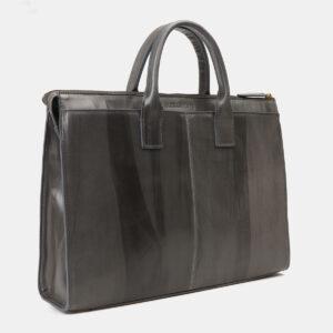 Вместительный серый мужской портфель ATS-4145 237128