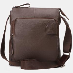Вместительный коричневый мужской планшет ATS-4146