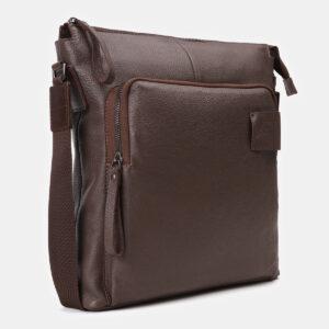Вместительный коричневый мужской планшет ATS-4146 237123