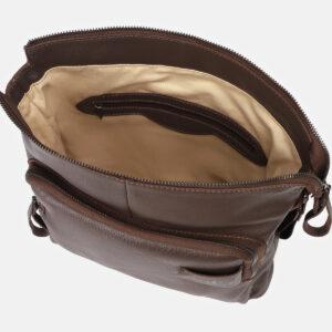 Вместительный коричневый мужской планшет ATS-4146 237126