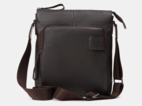 Удобный коричневый мужской планшет ATS-4147
