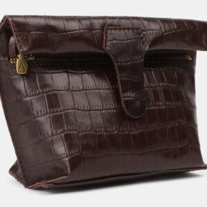 Неповторимый коричневый женский клатч ATS-4150