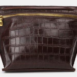 Функциональный коричневый женский клатч ATS-4150 237103