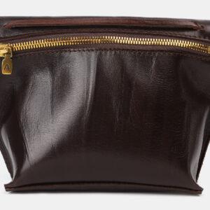 Солидный коричневый женский клатч ATS-4149 237108