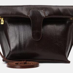 Солидный коричневый женский клатч ATS-4149 237109