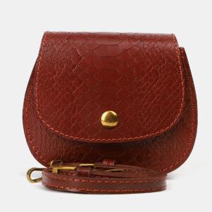 Солидный светло-коричневый женский клатч ATS-4151