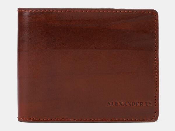 Удобный светло-коричневый портмоне ATS-4153