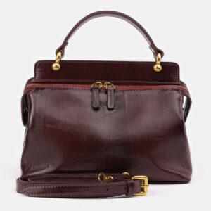 Модная бордовая женская сумка ATS-3437