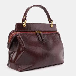 Модная бордовая женская сумка ATS-3437 237223