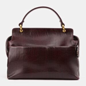 Модная бордовая женская сумка ATS-3437 237224