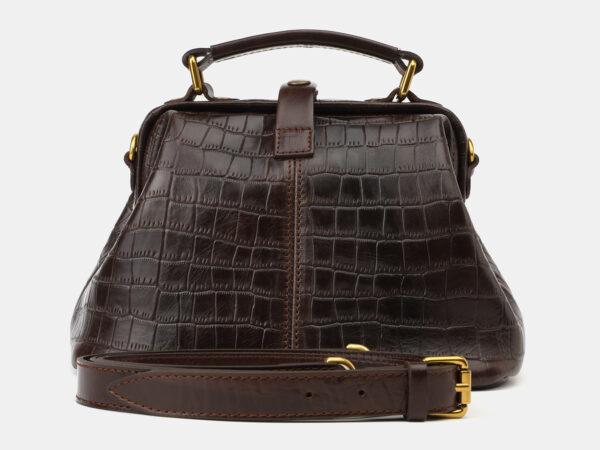 Удобная коричневая женская сумка ATS-4173
