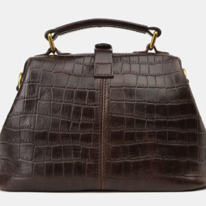 Удобная коричневая женская сумка ATS-4173 237199