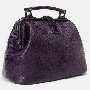 Деловая фиолетовая женская сумка ATS-4174 237193