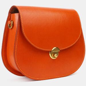 Функциональный оранжевый женский клатч ATS-4183 237149