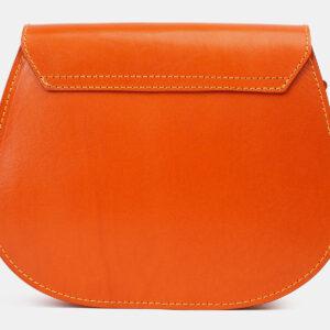 Функциональный оранжевый женский клатч ATS-4183 237150