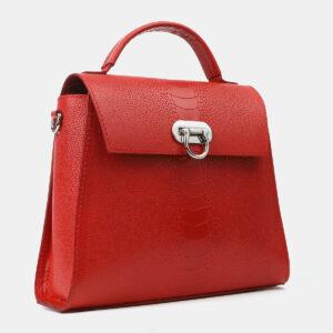 Удобная красная женская сумка ATS-4198 237233