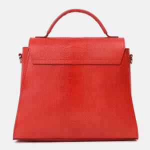 Удобная красная женская сумка ATS-4198 237234