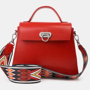 Неповторимая красная женская сумка ATS-4197