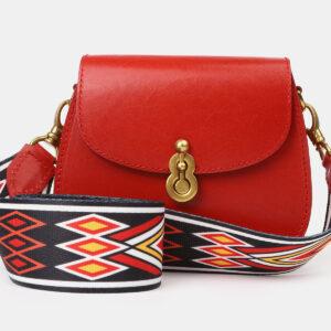 Модный красный женский клатч ATS-4187