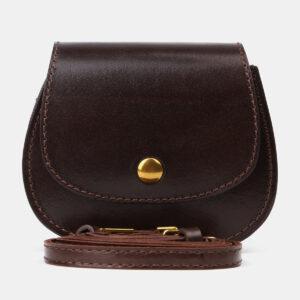 Солидный коричневый женский клатч ATS-4194