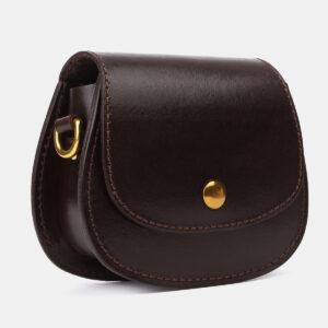 Вместительный коричневый женский клатч ATS-4194 237253