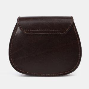 Вместительный коричневый женский клатч ATS-4194 237254