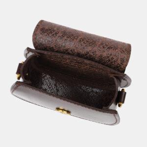 Вместительный коричневый женский клатч ATS-4194 237256
