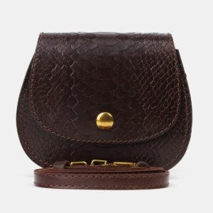 Деловой коричневый женский клатч ATS-4195