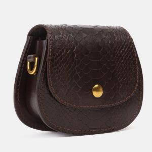 Удобный коричневый женский клатч ATS-4195 237248