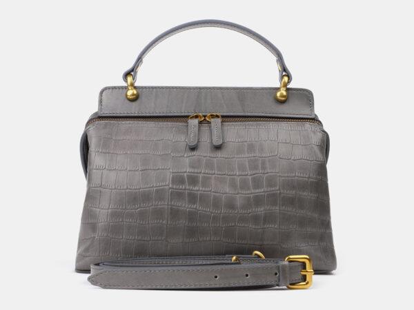 Удобная серая женская сумка ATS-4193